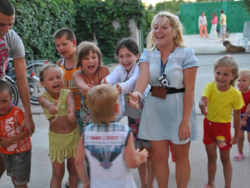Отдых с детьми в Поповке, Вилла Ковчег