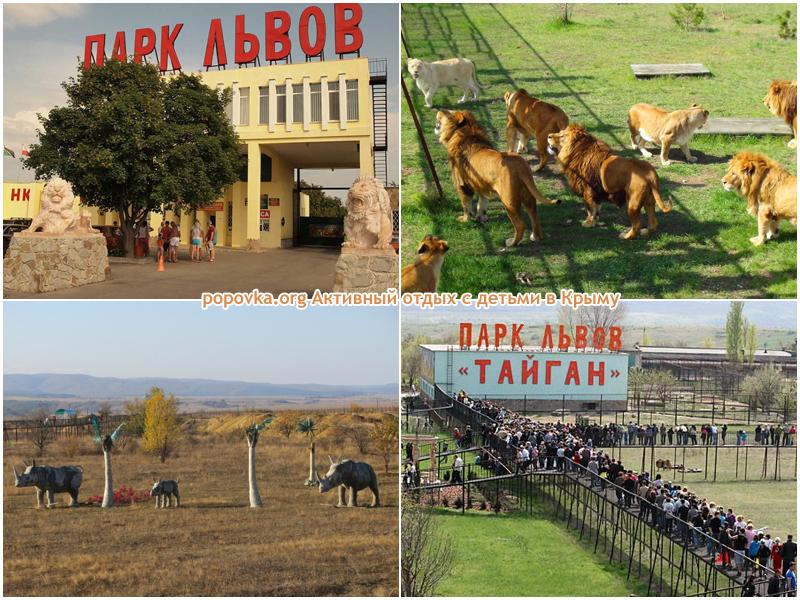 Тайган Крымский парк львов