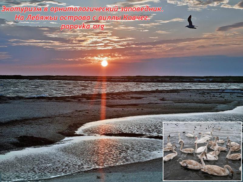 Из Поповки на Лебяжьи острова в Крыму
