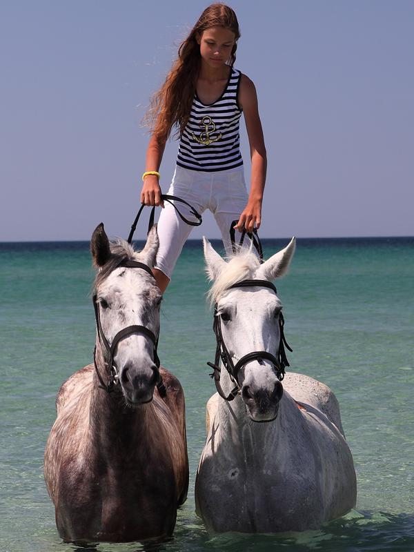 Для детей и взрослых в Поповке катание на лошадях