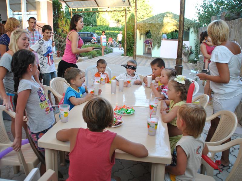 Отдых с детьми в Поповке